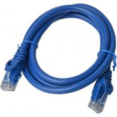 Cat 6a UTP Ethernet Cable, Snagless - 0.5m (50cm) Blue PL6A-0.5BLU