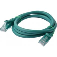 Cat 6a UTP Ethernet Cable, Snagless - 0.5m (50cm) Green PL6A-0.5GRN