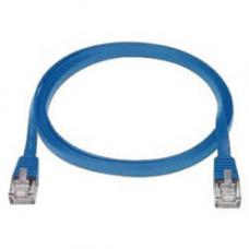 RJ45M - RJ45M Cat6 Flat Network Cable 1m (Blister Pack) - Blue PL6F-1BL