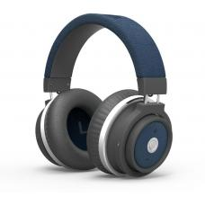 Promate 'Astro' Ergonomic Over-Ear Bluetooth v3.0 Headset with Touch Control -Blue ASTRO.Blue