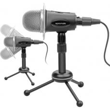 Promate Pro Desktop Condenser Mic w/built-in Vol Control, Adj Tripod, 3.5mm AUX MIC-TWEETER.8