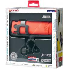 Promate 'BikerMate' 'Rugged Bluetooth v4.0 Speaker with 8000mAh Back-up Battery-Red BIKERMATE.RED