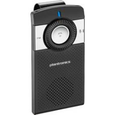 Plantronics K100 Bluetooth In-car Speakerphone with Dual-Mic, Voice Prompts, A2DP, FM Transmitter 83900-05