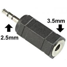 2.5mm Stereo Plug to 3.5mm Stereo Socket Adapter CK2602