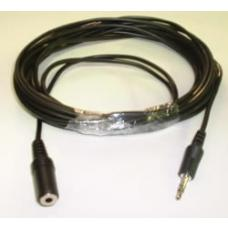 Speaker/Microphone Extension Cable M-F Stereo 5m QK-8054
