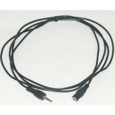 Speaker/Microphone Extension Cable M-F Stereo 2m QK-8055