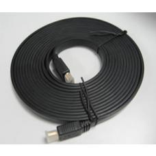 High Speed HDMI Flat Cable Male-Male 2m RC-HDMIF-2