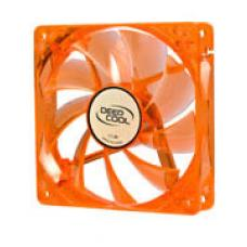 Deepcool Case Fan 120x120x25mm Orange Transparent Frame with Green LED TNP05423