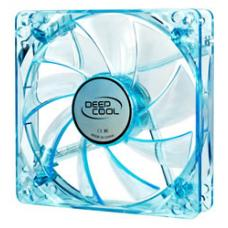 Deepcool Case Fan 120 x 25mm Blue UV Frame with Blue LED XFAN 120U B/B