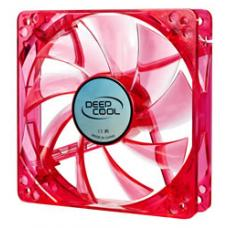 Deepcool Case Fan 120 x 25mm Red UV Frame with Red LED XFAN 120U R/R