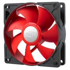 Deepcool Ultra Silent 92mm x 25mm Ball Bearing Case Fan with Anti-Vibration Frame PWM, RED UF92R