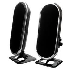 2 Piece USB Powered Compact Speakers SPK-USB