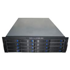 TGC-316 TGC-316 3U 16-bay Mini-SAS Hot-swap Rack Mountable Server Chassis - no PSU