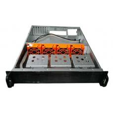 Rack Mountable Server Chassis Case 2U 650mm Depth - No PSU