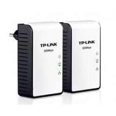 TL-PA411 KIT TP-LINK AV500 Mini Powerline Ethernet Adapter Starter Kit with 100Mbps Fast Ethernet