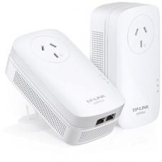 TL-PA9020P KIT TP-LINK PA9020P AV2000 2-Port Gigabit Passthrough Powerline Starter Kit