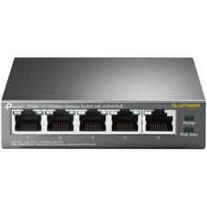TL-SF1005P TP-Link TL-SF1005P 5-Port 10/100Mbps Desktop Switch With 4-Port PoE
