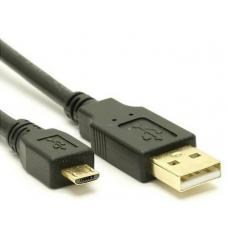 USB 2.0 Cable Type A to Micro-USB B M/M Black - 3m UC-2003AUB