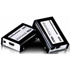 Aten VanCryst HDMI Over Cat5 Video Extender with Audio - 1920x1200@60Hz or 60m Max VE800A-AT-U