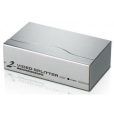 Aten 2 Port Video Splitter 250Mhz 1920x1440@60Hz Up to 65m VS92A-AT-U