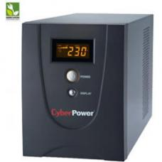 CyberPower Value SOHO LCD 1500VA / 900W (10A) Line Interactive Ups - (VALUE1500ELCD) - 2 Yrs Adv. Replacement incl. Int. Batteries VALUE1500ELCD