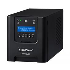 CyberPower PRO Series 750VA / 675W (10A) Tower UPS with LCD -(PR750ELCD)- 3 yrs Adv. Replacement PR750ELCD