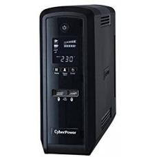 CyberPower PFC Sinewave Series 1500VA/900W (10A) Tower UPS with LCD and 6 x AU Outlets -(CP1500EPFCLCDa-AU)- 2 Years Adv. Replacement & incl. Int. Batteries CP1500EPFCLCDa-AU