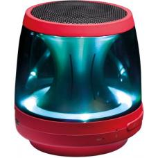 LG PH1R Bluetooth Speaker (RED)- LED Mood Lighting, Speaker Phone, Aux in, Built in Micphone PH1R