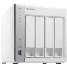 QNAP TS-431P 4-Bay TurboNAS, ARM Cortex-A15 dual-core 1.7Ghz, 1GB RAM, SATA 6Gb/s, 2x GbE LAN, 3 x USB3.0, HDD hot-swappable 2YR AR wty TS-431P