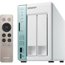 QNAP TS-251A-4G 2-Bay NAS, 4GB DDR3L RAM (max 8GB), SATA 6Gb/s, 2 Giga LAN, USB QuickAccess, hardware transcoding, HDMI, AES-NI encryption engine, 2YR AR wty TS-251A-4G