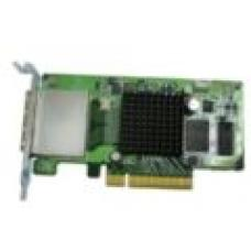 QNAP Dual-wide-port storage expansion card, SAS 6Gbps, for A01 series rack mount models SAS-6G2E-U