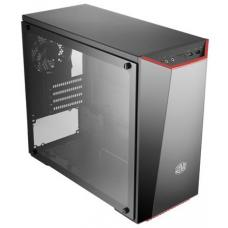"Cooler Master MasterBox Lite 3.1,, mATX, Black with Dark Mirror Design, Full Size Tempered Glass Panel, Includes 3 Color Trim. 2x 3.5"" + 1x 2.5"" Bay. 1x USB3.0 + 1x USB2.0 NO PSU"