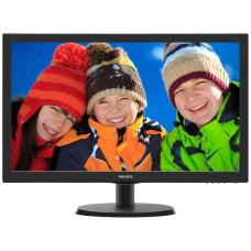 "Philips 223V5LHSB2 21.5"" Widescreen LED Black 1920x1080, 5ms Response, 10, 000:000:1 Contrast. HDMI + VGA - Support VESA Mount"