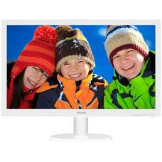 Philips 23.6inch 243V5QHAWA White Widescreen MVA LED Monitor