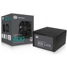 Cooler Master 600W Masterwatt Lite 80 PLUS Power Supply MPX-6001-ACABW-AU