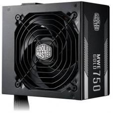 Cooler Master MWE 750w Gold Fixed Flat Cable, 80 Plus Gold PSU
