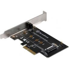 SilverStone ECM21 M.2 (M key) to PCI-E x4 Adapter Card