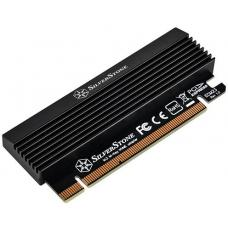 SilverStone SST-ECM23 M.2 to PCIe AHCI/NVMe Adapter Card