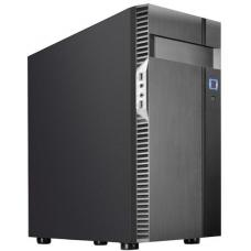 SilverStone PS14-E Black ATX Case, Tempered Glass Side Window, No PSU