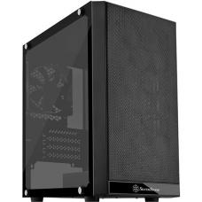 SilverStone Precision PS15 Black Micro ATX Case, T/G Window