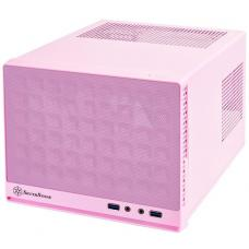 SilverStone Sugo Series SG13 Pink Mini ITX Case, NO PSU