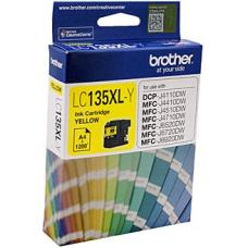 Brother LC135XL Yellow Ink Cartridge up to 1200 pages - LC-135XLY