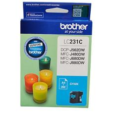 Brother LC231 Cyan Ink Cartridge Up to 260 pages - LC-231CS