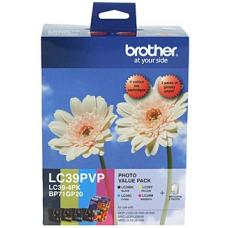 Brother LC39 Photo Value Pack Refer to singles - LC-39PVP