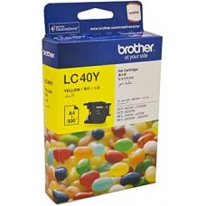 Brother LC40 Yellow Ink Cartridge up to 300 pages - LC-40Y