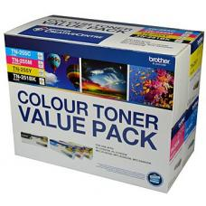 Brother TN25x Colour Value 4 Pack refer to singles - N8AE00003