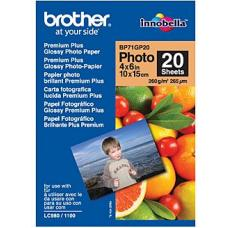 Brother BP71GP20 Glossy Paper 20 sheets - BP-71GP20
