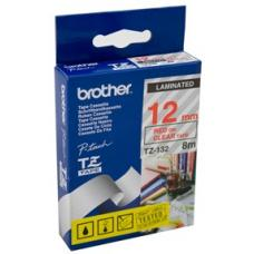 Brother TZe132 Labelling Tape 12mm x 8m - TZE-132