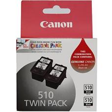 Canon PG510 Black Ink Twin Pack 2 x 220 pages - PG510-TWIN