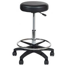 Castle Black Round Stool  - S081A01